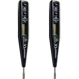 Taparia MDT 81 MULTIPURPOSE DIGITAL LINE TESTER WITH LCD DISPLAY PACK OF 2 Digital Voltage Tester