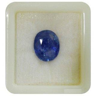 Dinesh Enterprises,Lab-Certified 5.25 Ratti / 4.52 Carat Cylone Quality Blue Sapphire Neelam 100  ORIGINAL CERTIFIED NA