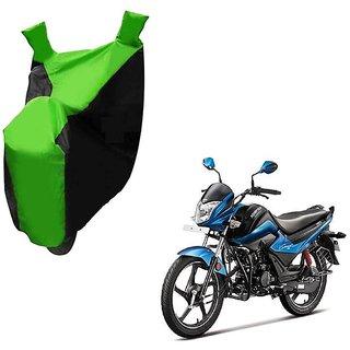 Kaaz Two Wheeler Green Colour Cover for Hero Splendor iSmart 110