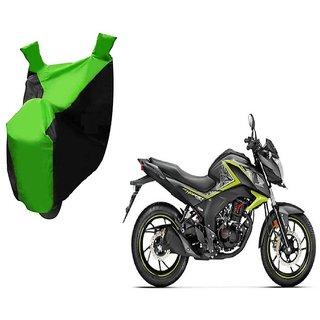 Kaaz Two Wheeler Green Colour Cover for Honda CB Hornet 160