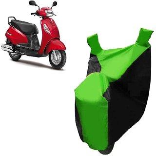Kaaz Two Wheeler Green Colour Cover for Suzuki Access