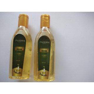 Nandini Premium Gold Herbal Hair oil ( 100ml pack of 2)