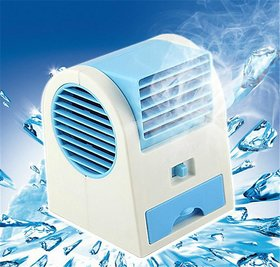 Portable Air Conditioner Mini Air Cooler With Water Tray - Assorted Color