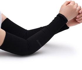 BLACK SPORTS ARM SLEEVES (3 pair)