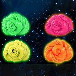HWS    Stress Relief royal Fancy Slime - Set of Four Slimes