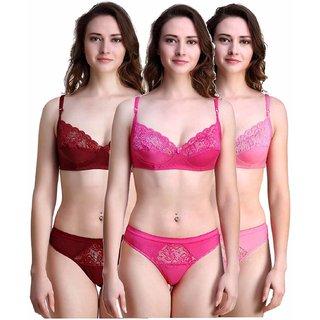 0538b0838d Buy cotton bra panty set Online - Get 50% Off