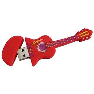 Microware Usb 2.0 4Gb Guitar Pen Drive JKL49