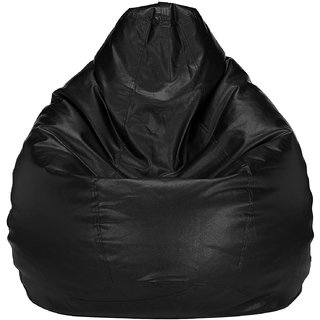 Home Berry XL Black Bean Bag (Without Beans)