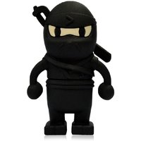 MICROWARE BLACK NINJA SHAPE 16GB PEN DRIVE