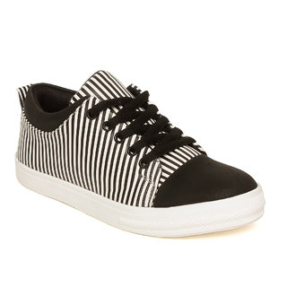 buy vendoz women black casual shoes online  ₹499 from