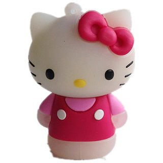 Microware USB 2.0 4GB Hello Kitty Pen Drive