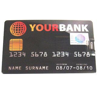 Microware Credit Card Shape 16GB PenDrive