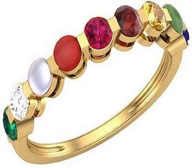 Navratan Ring Natural Navgrah Stone Crystal 100 original  Lab Certified Stone Jaipur Gemstone