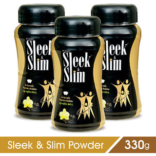 Sleek and Slim Powder - Helpful For Weight Loss (Pack of 3)