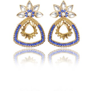 Meia Incredible Gold Plated AD Earring For Women