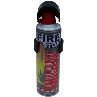 FIRE STOP PORTABLE FIRE EXTINGUISHER 500 ML CAN IDEAL FOR HOME OFFICE AND CARS.
