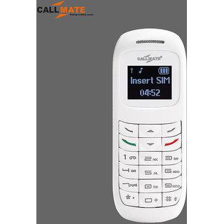 Callmate BM70 Mini Bluetooth Headset Mobile Phone - White