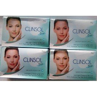 CLINSOL SOAP 4PC