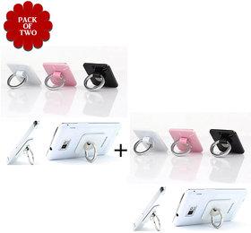 Sketchfab Pack Of 2 Universal Mobile Finger Ring - Assorted Color