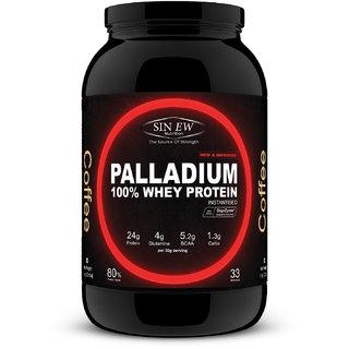 Sinew Nutrition Palladium Whey Protein with Digestive Enzymes, 1 kg (Coffee) Whey Protein (1 kg, Coffee)