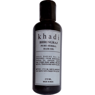 Khadi Bhringraj Hair Oil 210ml (Pack of 1)