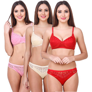 Buy Bra and Panty Set Size 30 Online - Get 50% Off 51170b6dd