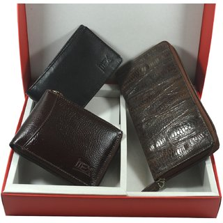 Imex Couple Combo Wallet Accessories (Combo Of 3)