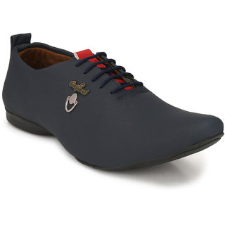 Buy Lee Peeter Men's Navy Stylish Casual Shoes Online at Best Price in India