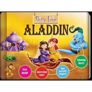 Aladdin - Classic Childrens Storybook Presented In An All-New Style!