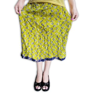 Cotton Designer Short Skirt 24 Inch Length