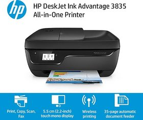 HP DeskJet Ink Advantage 3835 AiO Wireless Printer (P,S,C,Fax,Wifi,ADF)