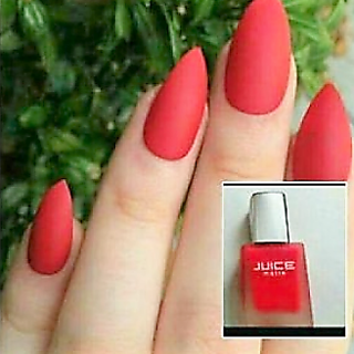 Juice Matte Nail Polish Red