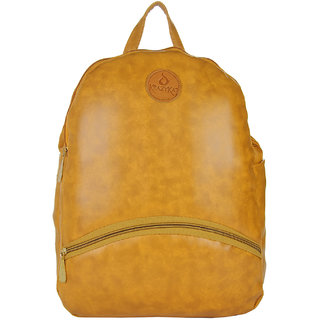 Stylish and Fashionable Tan Color Backpack By JG Shoppe For WomenGirlsLadies