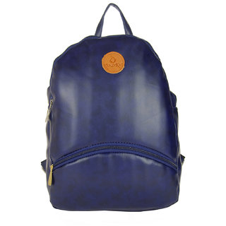 Stylish and Fashionable Blue Color Backpack By JG Shoppe For WomenGirlsLadies