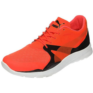 Puma Mens Red Lace-up Running Shoes