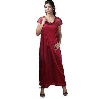 Arissa NIGHTY / MATERNITY DRESS satin Gown Nighty