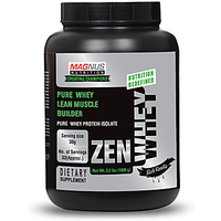 Magnus Nutrition Zen Whey - 2.2Lbs (1000G) - Vanilla