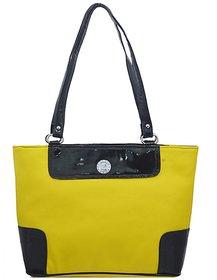 LADY QUEEN LADY QUEEN-057 Yellow Shoulder Bags No