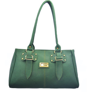 Lady Queen Green Shoulder Bag