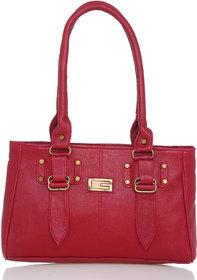 Lady Queen Maroon Plain Sling Bag