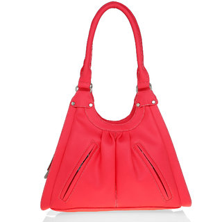 Lady Queen Pink Plain Sling Bag
