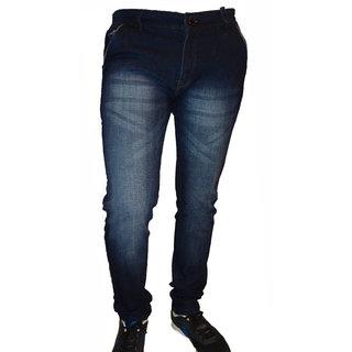 F2 Dark Blue Cotton Denim Jeans.
