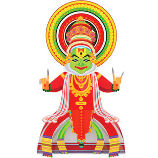 CrafToi -3D DIY Kathakali