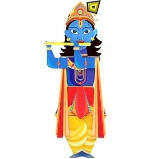 CrafToi -3D DIY Krishna