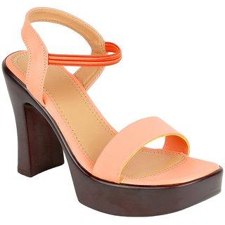 Glitzy Galz Block Heel Sandal for Women