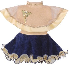 Princess Navy Poncho Party Dress