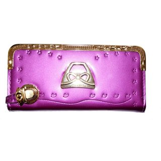 Pin to Pen Pink Clutch