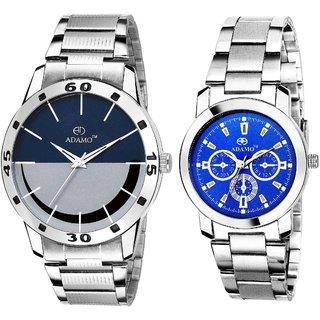 ADAMO Designer Mens Wrist Watch 817-324SM05