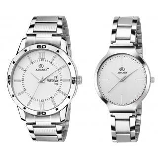 ADAMO Designer Mens Wrist Watch 812-816SM01
