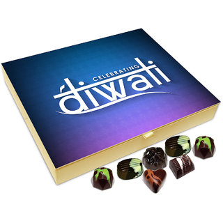 Chocholik Diwali Gift - Celebrating Diwali In Style Chocolate Box - 20pc